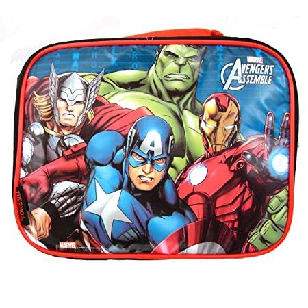 12549338f3ec Thermos Marvel Heroes Avengers Assemble Insulated Lunch Box Captain ...