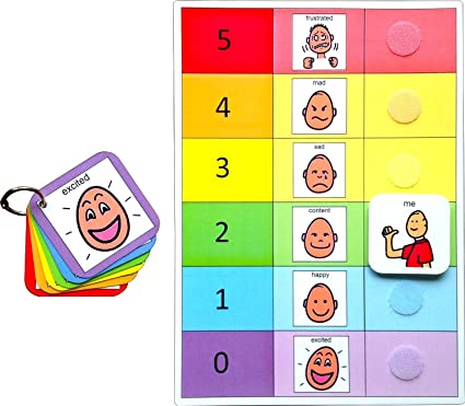 Non Verbal Communication Autism Emotions /& Feelings Flash Card Boy /& Girl Pack