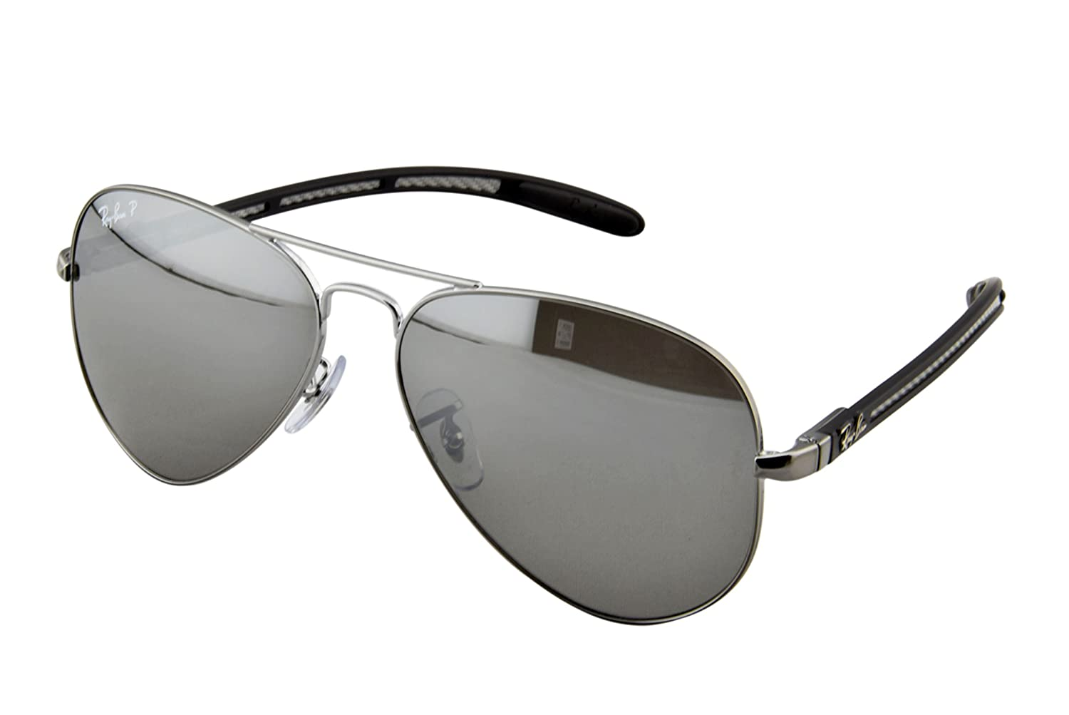 Ray-Ban - Gafas de sol (RB 8307 004/N8 58): Amazon.es: Ropa ...