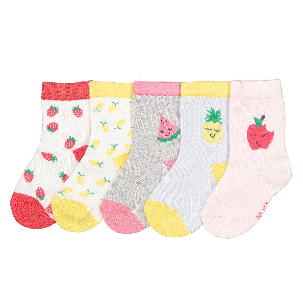 3 To 5.5 8469970-000-1023047-00019-1 La Redoute Collections Big Girls Pack Of 5 Pairs Of Socks Sizes 00//2-6//9.5 Other Size 19//22