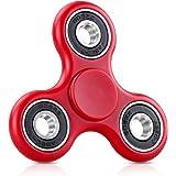 MOFIR Tri Fidget Spinner Mano Dito Spin Widget Focus Giocattolo Antistress Alta Velocità Cuscinetto Cuscinetto in ABS and Ceramica Rotazione da 2-3 minuto - Perfetto per ADD / ADHD / Ansia e Autismo bambini per adulti