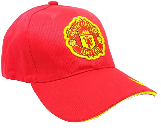 Ice Dragon Unisex Manchester United Football Cap With Curved Brim Baseball Style Manu Cap Man Utd Amazon In Clothing Accessories