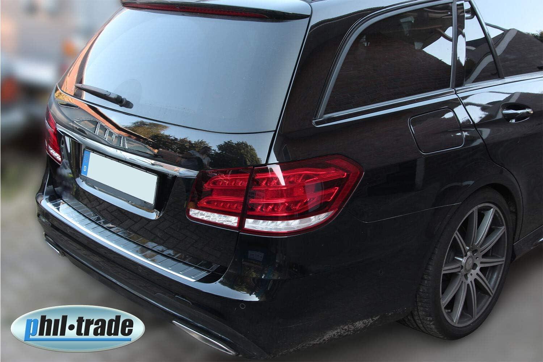 Recambo Ct Lks 1480 Ladekantenschutz Edelstahl Für Mercedes E Klasse S212 T Modell Mit Abkantung Large Auto