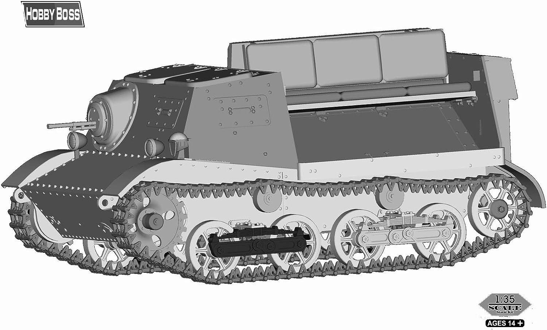 Soviet T-20 Armored Tractor Komsomolets 1940 1:35 Hobby Boss 83848 Modellbau