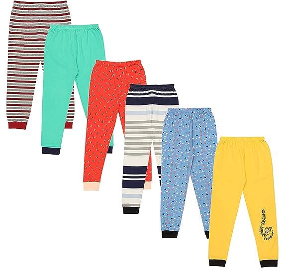 2fad9a456 Bibosa Kyda Kids Cotton Pajama Pants Unisex with Rib Random Prints ...
