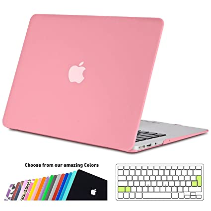 Funda MacBook Air 13 pulgada,iNeseon(TM) 2 in 1 [Frosted Series]Ultra Delgado Carcasa Dura Shell Case Cubierta del Teclado para Apple MacBook Air ...