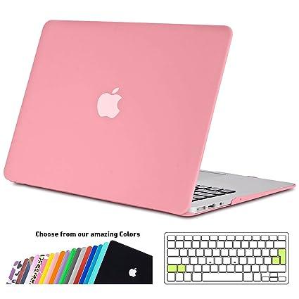 Funda MacBook Air 13 pulgada,iNeseon(TM) 2 in 1 [Frosted Series