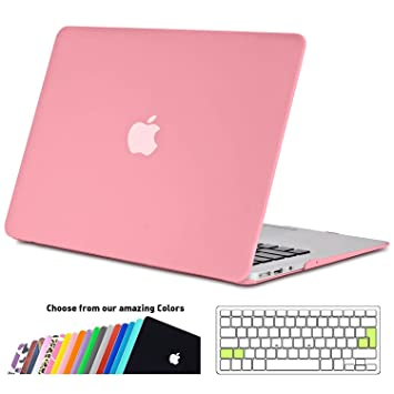 reputable site 75325 fe89b MacBook Air 11 Case Cover, iNeseon Ultra Slim Plastic Hard Shell Snap on  Protective Case with Silicone Keyboard Cover for Apple MacBook Air 11.6  inch ...