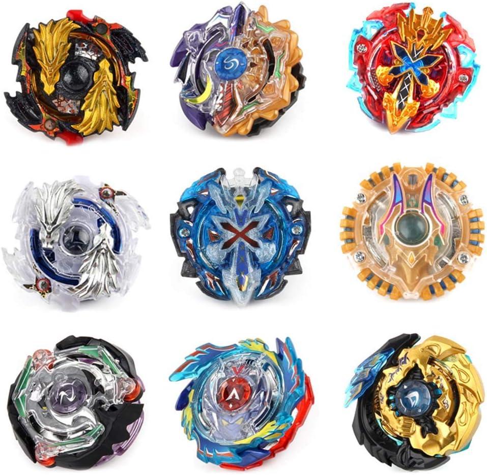 XD168-1-B Skisneostype Set de Beyblade Lutte Ma/îtres Fusion Spinning Top Toupie Gyro M/étal Rapidit/é Jouet et Cadeaux Int/éressant pour Enfants