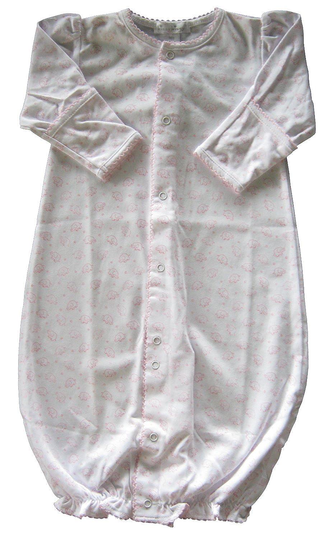 Kissy Kissy Baby-Girls Infant Ele-Fun Print Convertible Gown