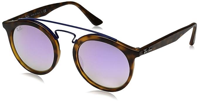 e8d00646f1 Ray-Ban Unisex 0RB4256 Gatsby I 49mm Havana Lilac Gradient  Ray-Ban ...