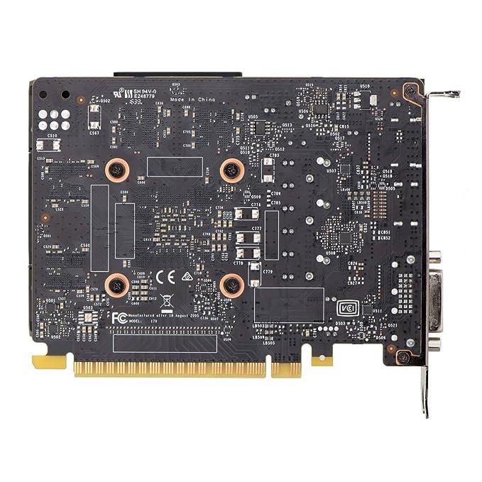 EVGA GeForce GTX 1050 Gaming, 2 GB de GDDR5, DX12 Soporte de OSD (PXOC) Tarjeta gráfica 02G-P4-6150-KR