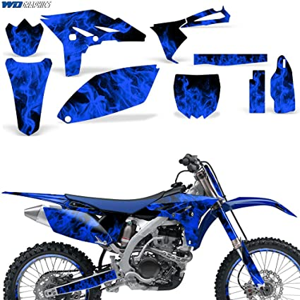 Amazon com: Yamaha YZ 250F YZ250F 2010-2013 Graphic Kit MX