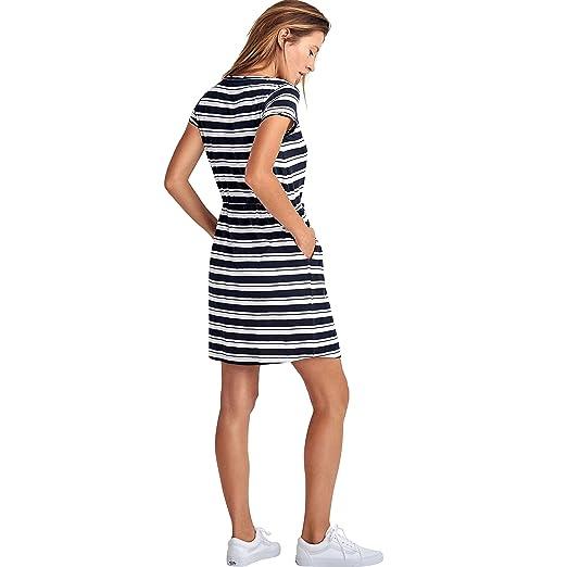 1e90fe745e5 Ellos Women s Plus Size Knit Drawstring Dress at Amazon Women s Clothing  store