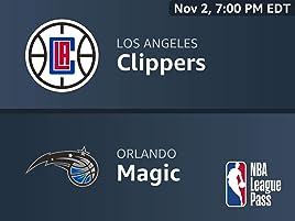 Amazon com: Los Angeles Clippers vs  Orlando Magic