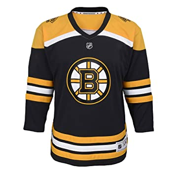 reputable site 69c9f b86f8 Boston Bruins NHL Toddler Replica (2-4T) Home Hockey Jersey ...
