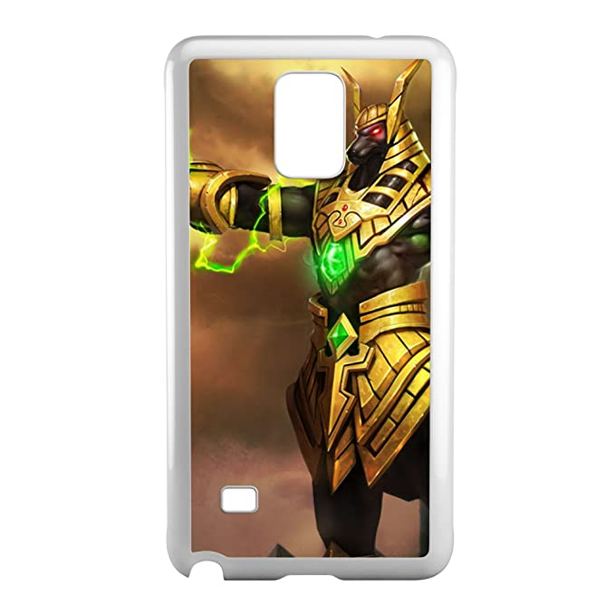 Nasus-003 League of Legends LoL funda con tapa para Samsung ...