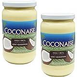Coconaise 15oz Coconut Oil Mayonnaise (2 Jars)