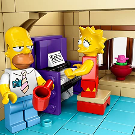 NEW LEGO Snake FROM SET 71016 The Simpsons sim024