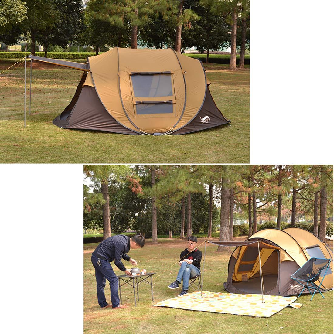 Automatisches Zelt 3-4 Person Person Person wasserdicht 3 Jahreszeiten Camping Reisen leicht Zelte B07MZ2J48F Wurfzelte Leicht zu reinigende Oberfläche 7c86a3