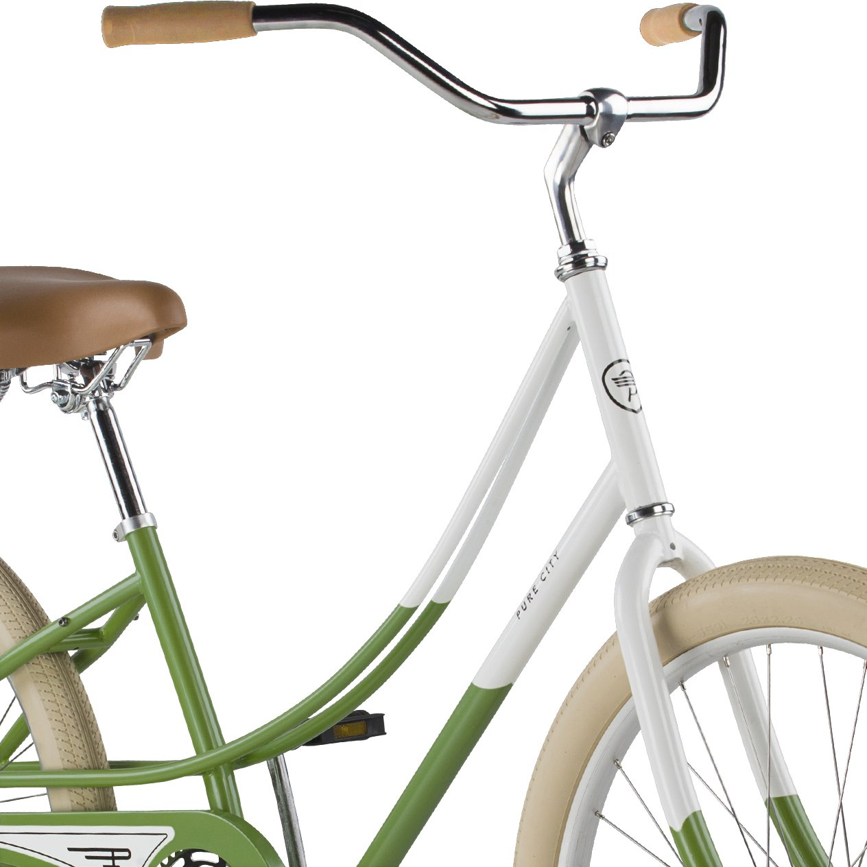 Pure City Womens Cruiser Bicycle 26-Inch Wheels