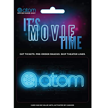Atom Tickets Gift Card