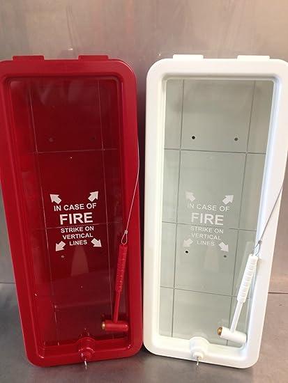 10 lb fire extinguisher cabinet indoor outdoor amazon com rh amazon com plastic outdoor fire extinguisher cabinets plastic outdoor fire extinguisher cabinets