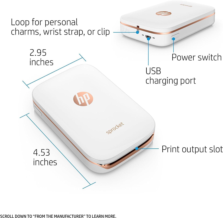 Amazon.com: Impresora de fotografías portátil ...
