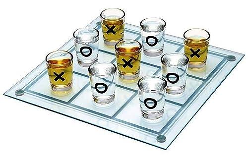 Tres en raya de chupitos - Tic tac toe - Juegos para beber