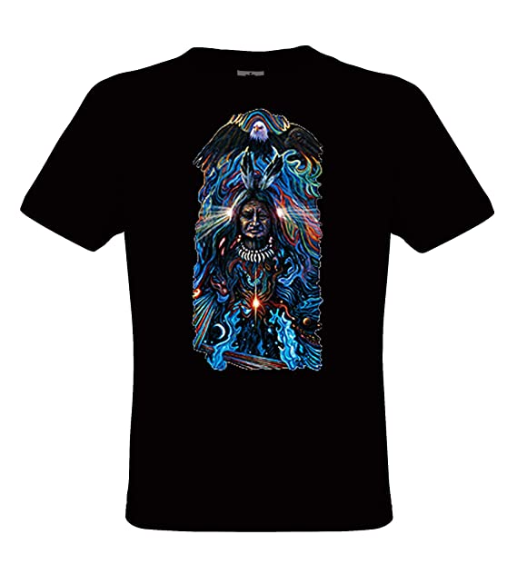 DarkArt-Designs Eagle Spirit - Camiseta Águilas Nativo Americano para niños  y Adultos - Estilo de Vida T-Shirt Regular fit  Amazon.es  Ropa y accesorios b27c819432f43