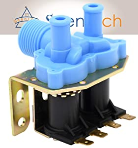 Universal Washing Machine Washer Water Inlet Valve - Exact Fit for GE,LG,SAMSUNG,WHIRLPOOL, 1 inelt, 2 outlet(G3/415mm)