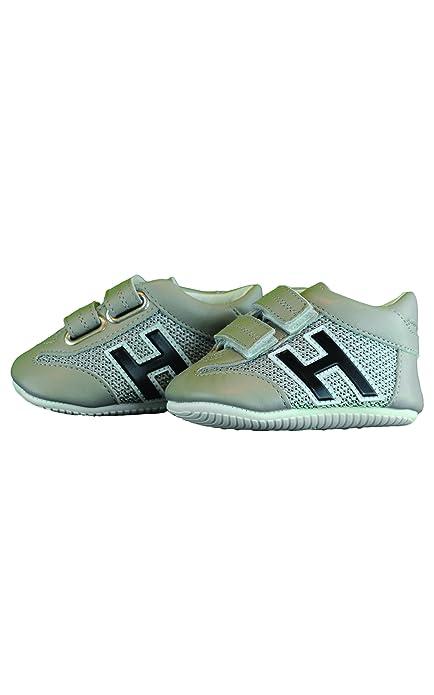 Hogan Junior Sneakers Neonato HXB05201740GIR Beige 17  Amazon.it ... 93269b318c1