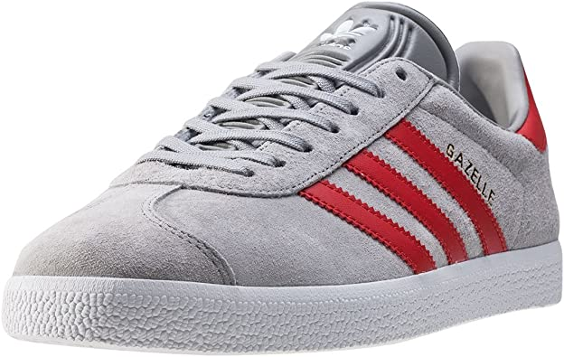 adidas gazelle blanche rouge