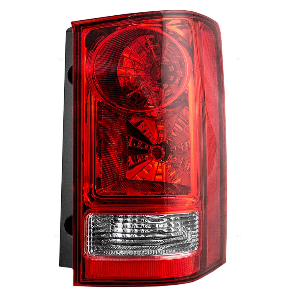 Passengers Taillight Tail Lamp Replacement for 09-15 Honda Pilot SUV 33500SZAA02