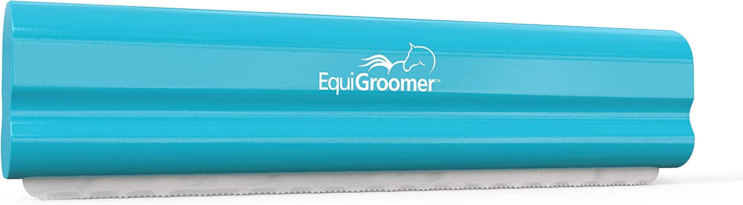 Fauge Equestrian Metal Horse Grooming Curry Comb Perfect for Cleaning Hair From Brushed Of Removing Winter Coat Designed to Remove Hair From Body Brushes