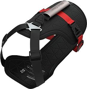 LEOLAB Patented Hydro Cooling Dog Harness - Non-Pulling Adjustable Dog Harness - UV Protective Dog Cooling Vest