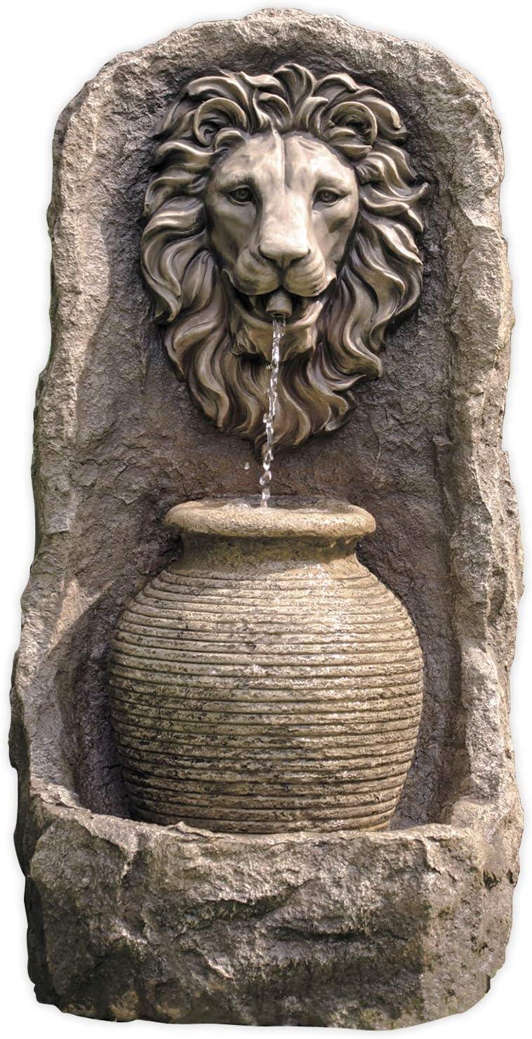 Wandbrunnen Tête De Lion H 91