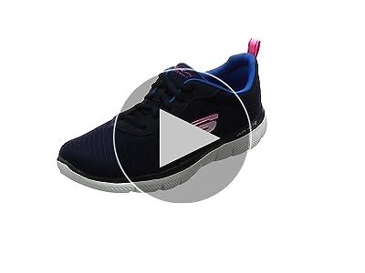 Skechers Flex Appeal 2.0 Newsmaker, Baskets Femme, Bleu