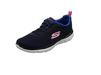 Skechers Graceful-Get Connected, Baskets Femme, (Navy/Pink), 37 EU