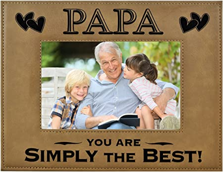 Granddad Granddaughter Fathers Day Photo Frame Gift Personalised 6x4