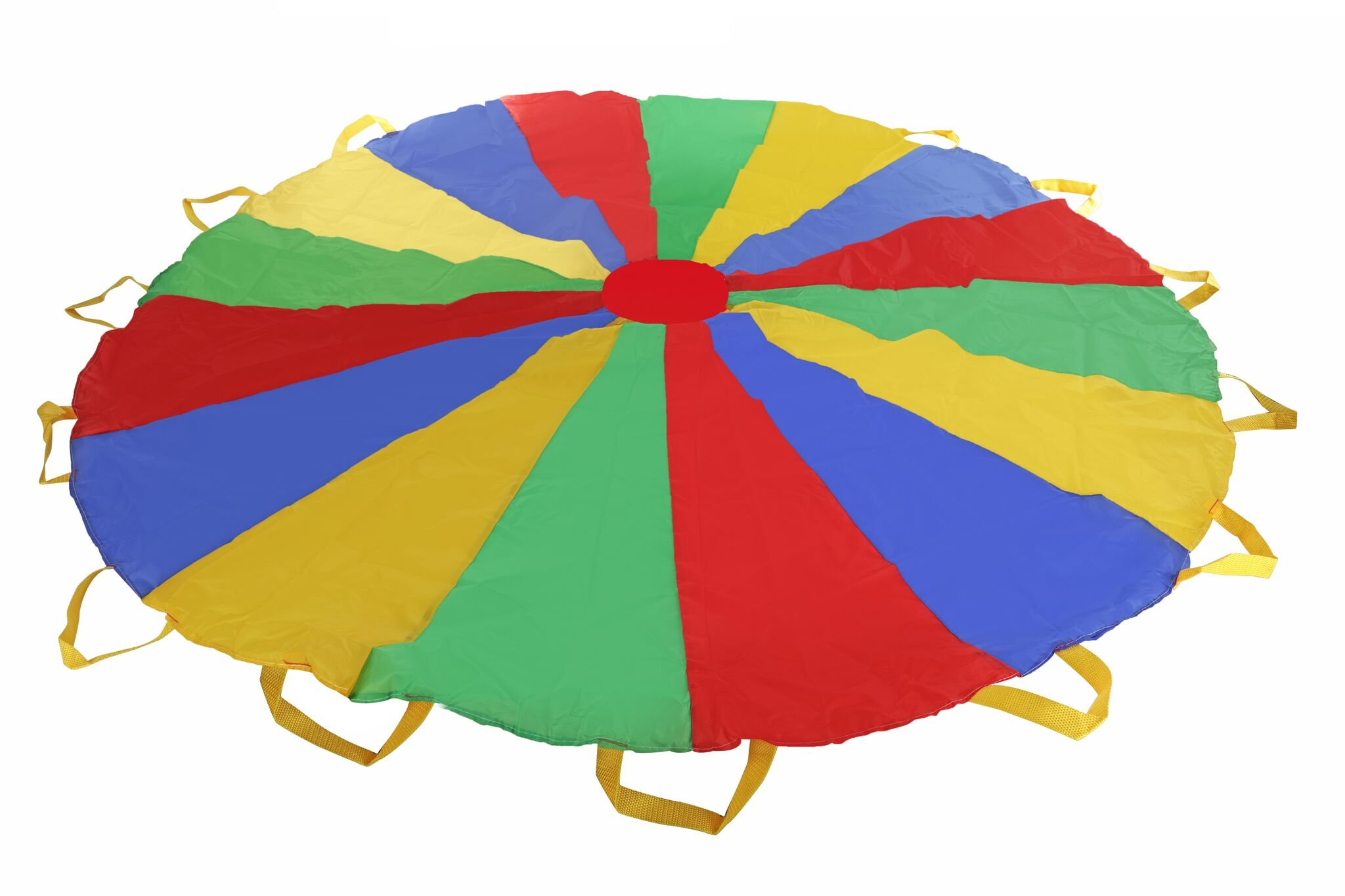 Multi-color 5 feet Parachute - Ideal Summer Sport Activity Playchute For Kids - Amazing Exerciser, Gift, Game, and more! by Toy Cubby (Image #5)