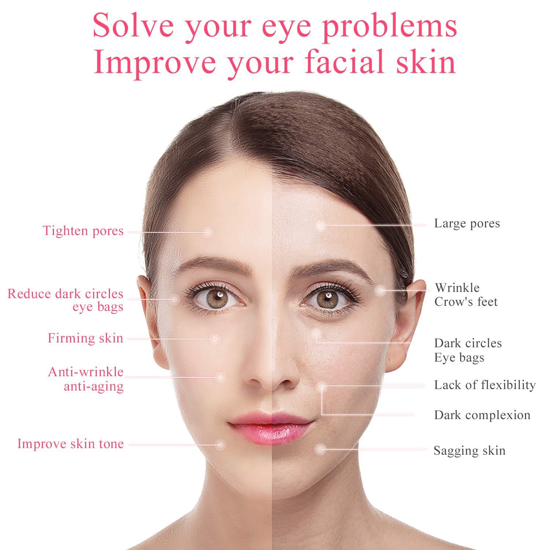 Amazon.com: Masajeador de ojos, varita masajeadora facial ...