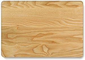 Peach-girl - Carcasa rígida para MacBook Air 13 A1932 A2018, carcasa de madera, carcasa rígida para ordenador portátil MacBook Air de 13 pulgadas, A1466, A1369, A2179 2020, Coque-Wood 5-A1466 A1369