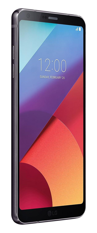LG G6 Smartphone, Display QHD FullVision 5.7 pollici formato 18:9, Doppia Fotocamera Grandangolare da 13 MP, RAM 4 GB, Memoria Interna 32 GB espandibile fino a 2 TB, Resistente all'acqua, Nero [Italia]