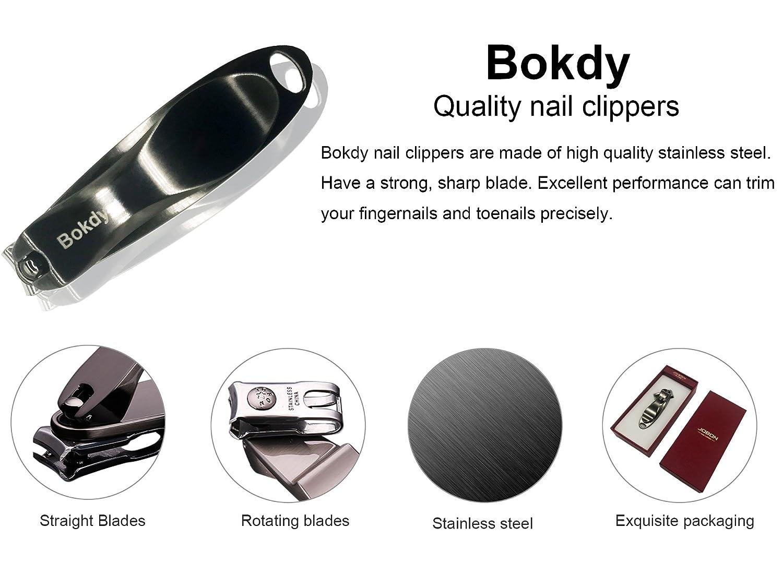 Amazon Bokdy Nail Clipper Fingernails Toenails Clippers