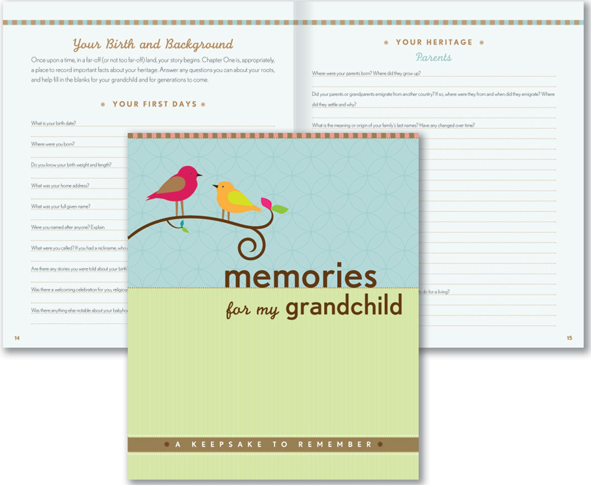 Memories For My Grandchild: A Keepsake To Remember (Grandparentu0027s Memory  Book): Suzanne Zenkel, Margaret Rubiano: 8601400367278: Amazon.com: Books