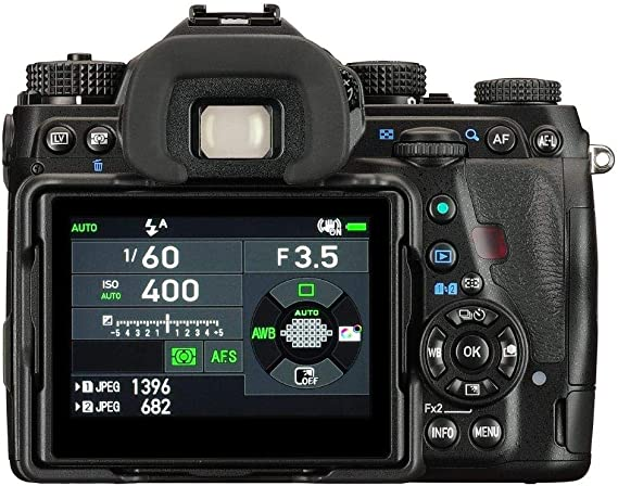 Pentax K1 - Cámara Reflex Digital (Cuerpo, 36.4 MP, Sensor de ...