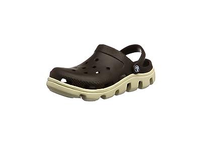 crocs Duet Sport Clog (black/white/M5/W7)