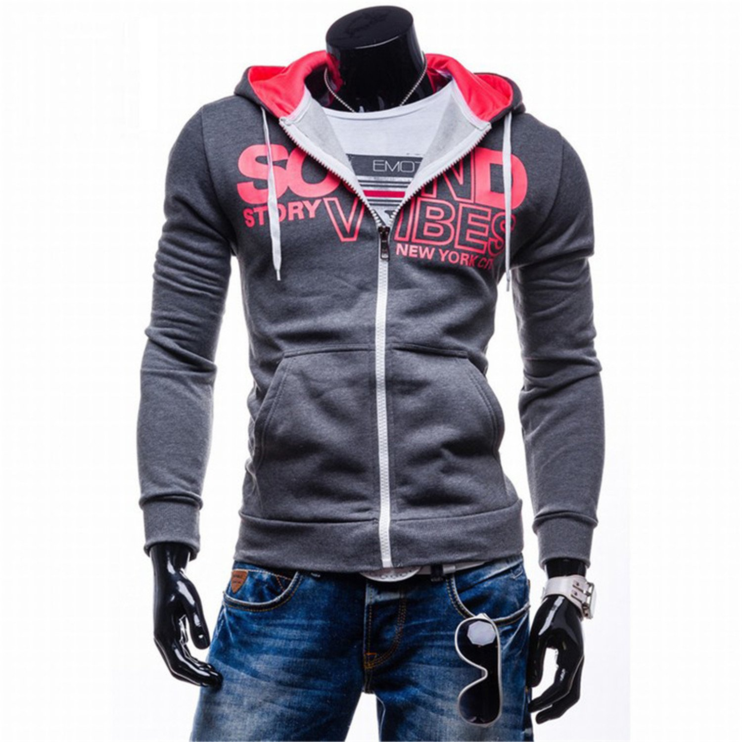 Amazon.com: RENXINGLIN Cosy Men Hooded Hoodies Print Leisure Hoodie Sweatshirt Sudaderas Hombre Hip Hop Hoodies: Clothing