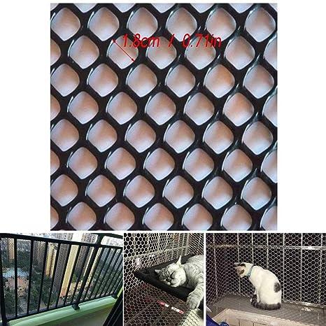 Red De Protección Balcón La Seguridad del Gato Neto De La Ventana ...